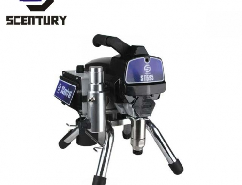 Scentury ST595 Stand Airless Paint Sprayer in black