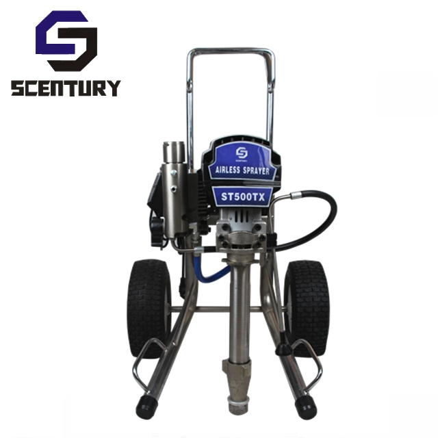 SCentury ST795 airless paint sprayer electric with cart