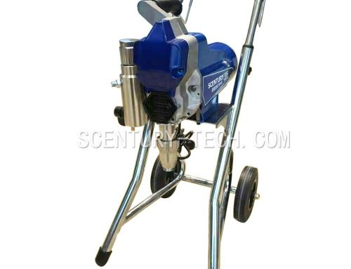 ST-395L Airless Paint Sprayer with Wheel Rack